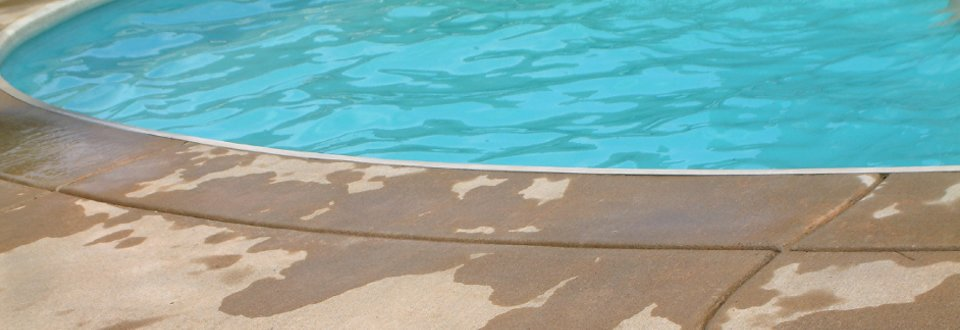 An ideal product for concrete pool repairs